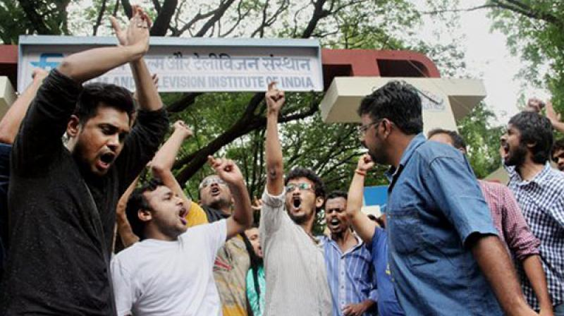 Outlining his priorities, the FTII director said a revision of the three-year syllabus was underway and he would ensure that the students completed their three year course without spilling over the prescribed timeline (Photo: PTI)