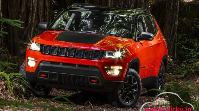 india bound jeep compass unveiled. Black Bedroom Furniture Sets. Home Design Ideas