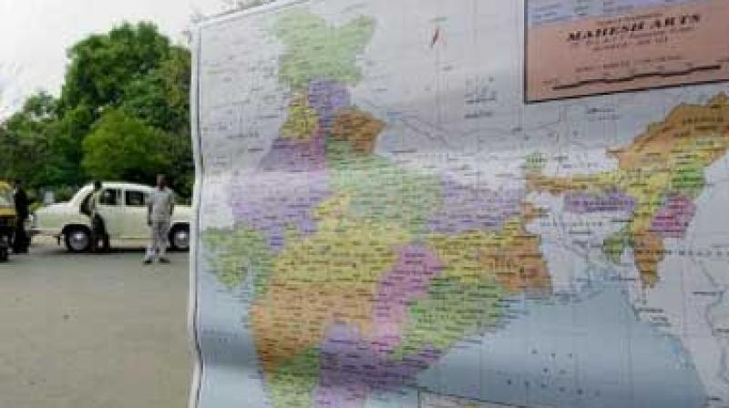 """It said that """"in violation of UNSC resolutions, the official map of India has been depicting the disputed territory of Jammu and Kashmir as part of India which is factually incorrect and legally untenable"""". (Photo: AFP)"""