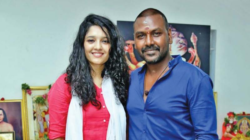 Ritika Singh and Raghava Lawrence