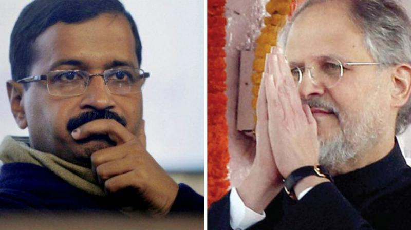 Delhi Chief Minister Najeeb Jung and Lieutenant Governor Najeeb Jung (Photo: PTI)