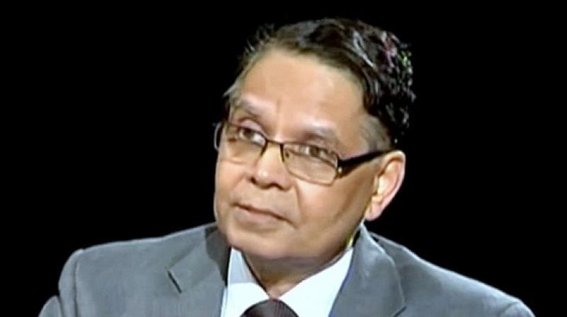 NITI Aayog vice-chairman Arvind Panagariya.