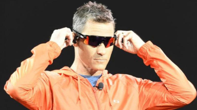 4f9f8bfe5b7 Oakley s Radar Pace were first showcased at the CES