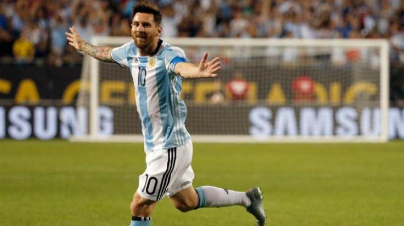 National coach Edgardo Bauza met with Messi in Barcelona this week hoping to convince him to rejoin the squad.