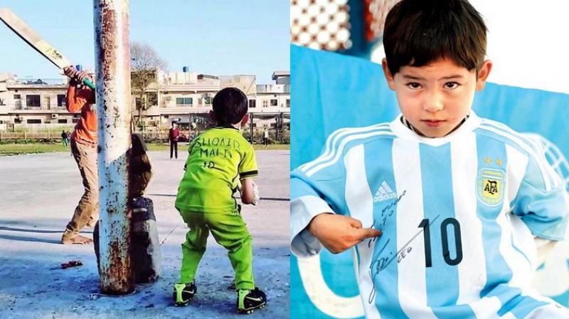 buy online bb4e5 939c6 Like Lionel Messi, Shoaib Malik hunts for little fan