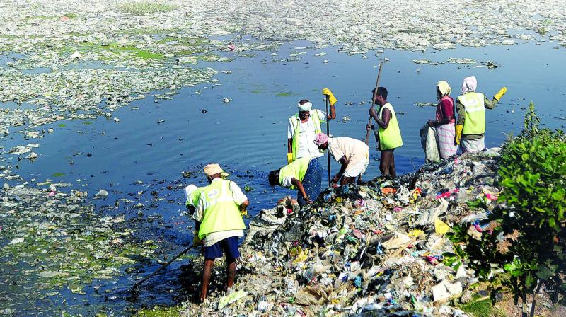 According to a study, the Musi is the eighth most polluted river.