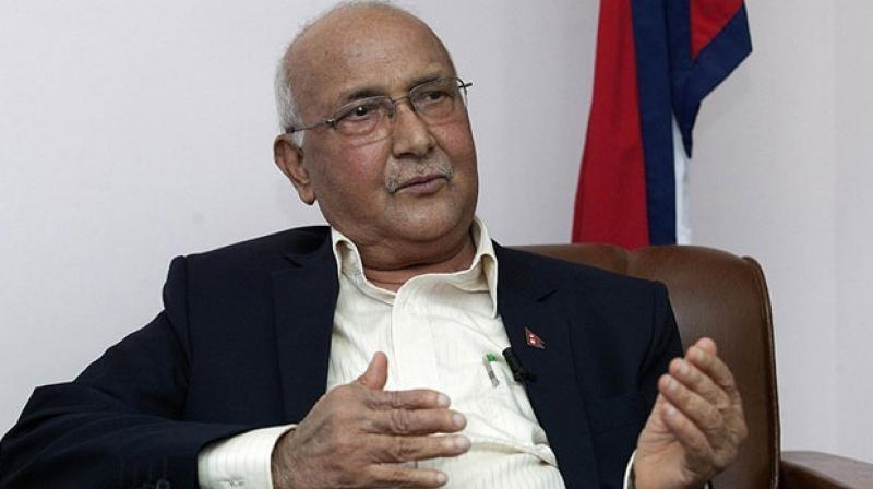 Nepal Prime Minister KP Sharma Oli, has faced fierce criticism over his handling of protests against the new charter, which triggered a months-long border blockade in southern Nepal by demonstrators from the Madhesi ethnic minority. (Photo: AFP)