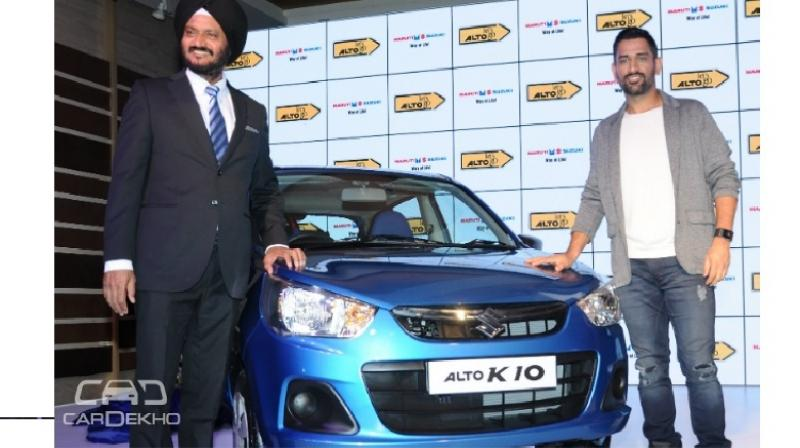 Maruti Alto MS Dhoni Special Edition Launched - Car body graphics for altomaruti altobrowzer features and price in india