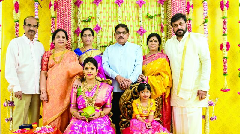 Image result for chiranjeevi daughter wedding