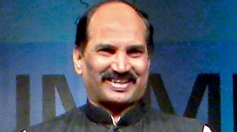Telangana congress president Uttam Kumar Reddy