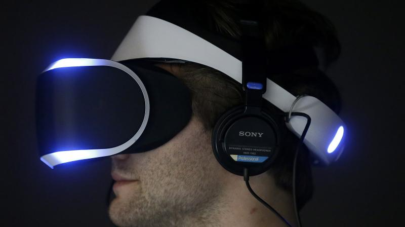 PlayStation 4 virtual reality headset, Project Morpheus (Photo: AP)