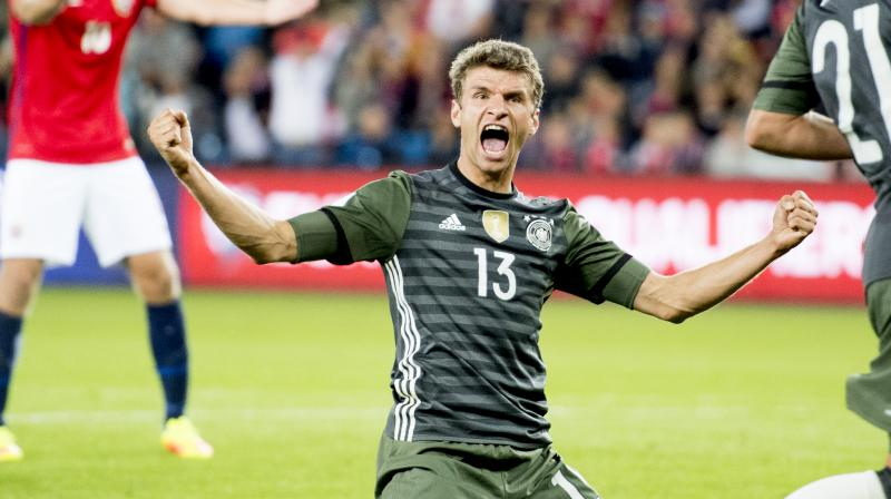 Mueller rediscovered his best form in Oslo as he increased his international goals tally to 34. (Photo: AP)