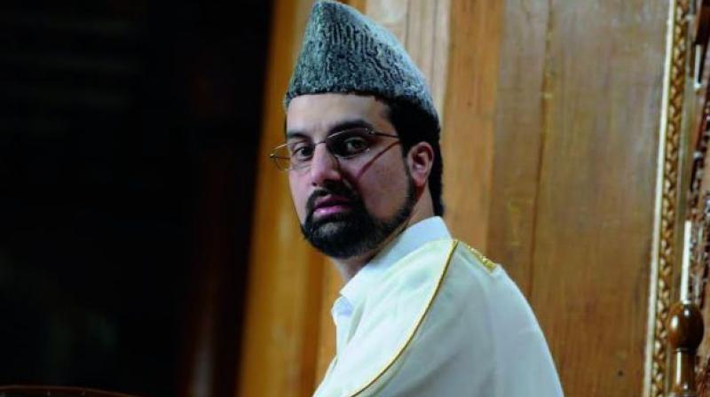 Kashmiri separatist leader Mirwaiz Umar Farooq. (Photo: HU Naqash/DC)