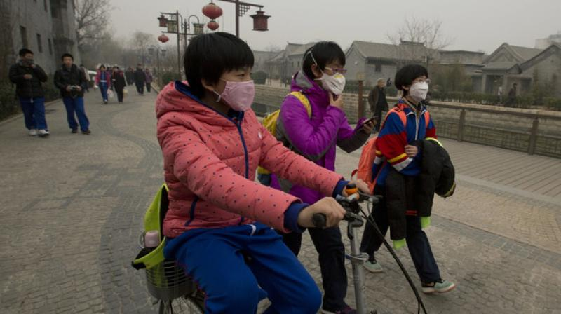 The greatest reduction in breathing problems with improved air quality was seen in children with asthma. (Photo: AP)