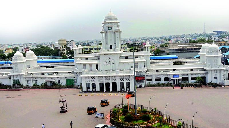 The station was first built during the period of Nizam Osman Ali Khan to create wider connectivity for the state to Western cities.
