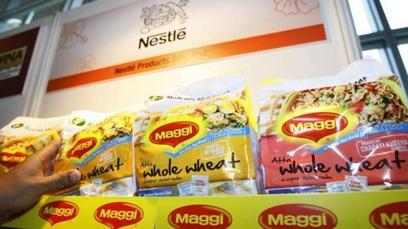 After 'lead' it's 'ash content' in Maggi above permissible limits