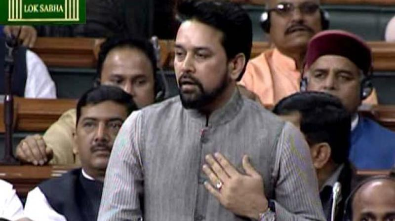 The value of total notes in circulation as at end of March 2019 stood at Rs 21,109 billion, Minister of State for Finance Anurag Thakur said in a written reply in the Lok Sabha on Monday. (Photo: File | PTI)
