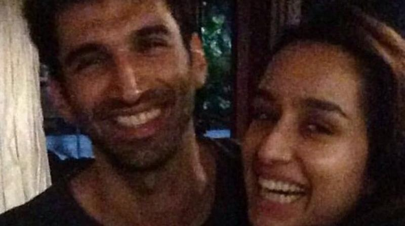 Shraddha Kapoor and Aditya Roy Kapur along with the cast moved to director Shaad Ali's cousin's residence for the party which went on till wee hours.