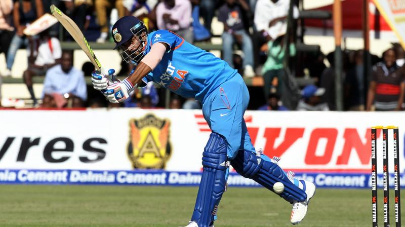 KL Rahul said he enjoyed the challenge of batting on a difficult wicket. (Photo: AP)