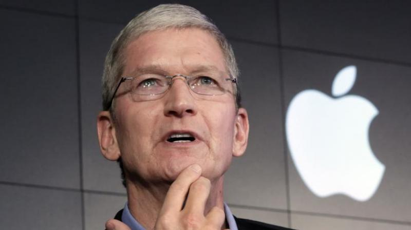 Apple CEO Tim Cook will inaugrate another developement centre in Hyderabad tomorrow.