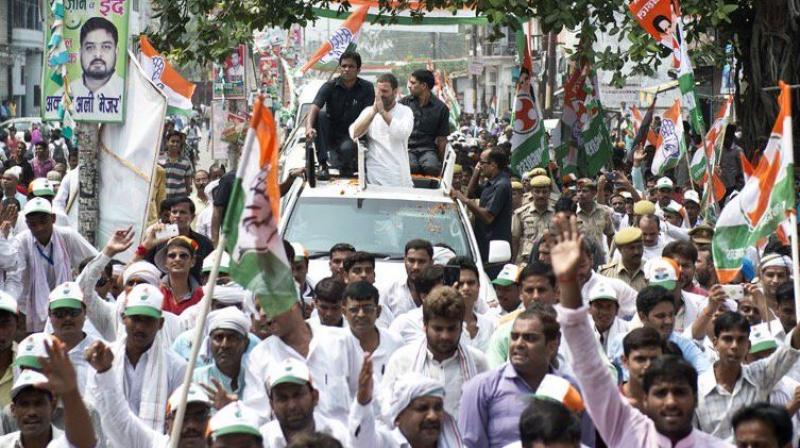 The district administration of Mau has denied permission for party vice-president Rahul Gandhi's September 11 road show. (Photo: Office of RG/Twitter)
