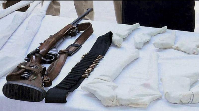 The police recovered 47 country-made pistols, six rifles, 178 live cartridges, 15 four wheelers and 6 two-wheelers were from the site of the clashes.