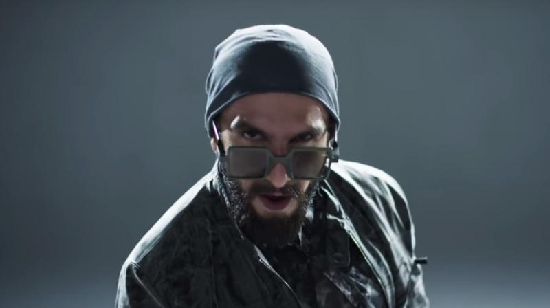 Ranveer Singh (Photo: Screegrab from 'Don't Hold Back')