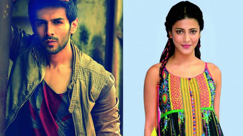 Kartik Aryan and Shruti Haasan