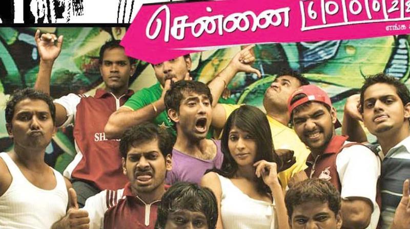 Chennai 28 poster