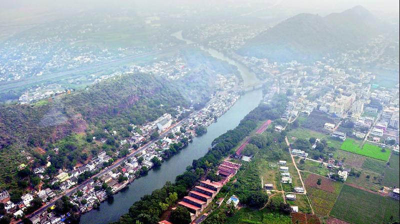 The new barrage on Krishna river will connect Amaravati from Hyderabad-Vijayawada national highway of Krishna district.
