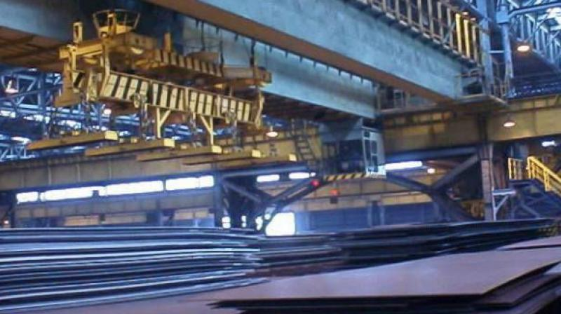India produced 9.355 MT crude steel during the same month a year ago. (Photo: File)