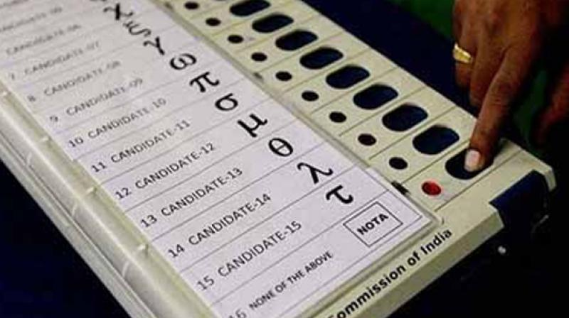 The cyber expert claimed that the EVMs were hacked by the BJP using a modulator which transmits military-grade frequency. (Representational Image)