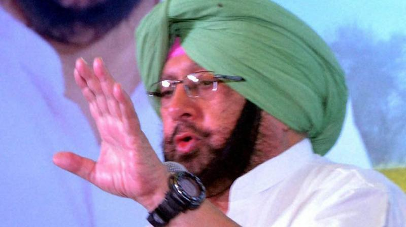 Earlier today, Captain Amarinder invited the former Prime Minister to attend the main event at Sultanpur Lodhi to mark Guru Nanak Dev's 550th Prakash Purab next month. (Photo: PTI)