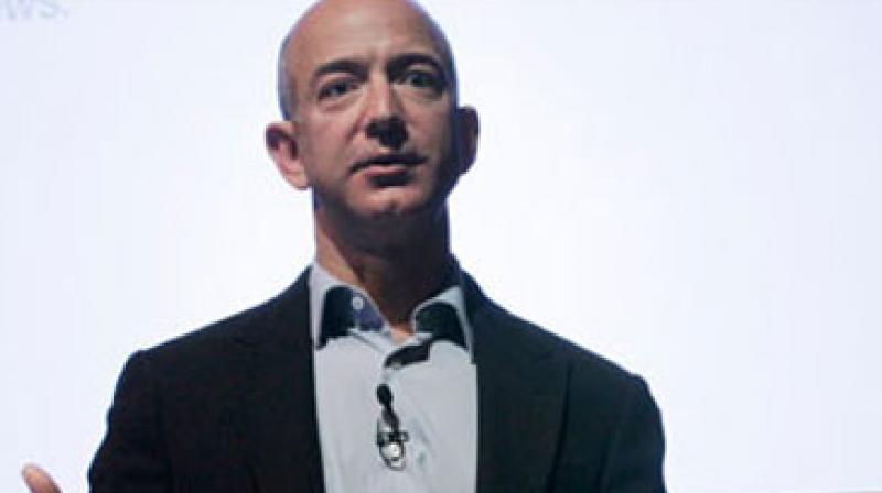 Jeff Bezos, founder and CEO of Amazon.com.