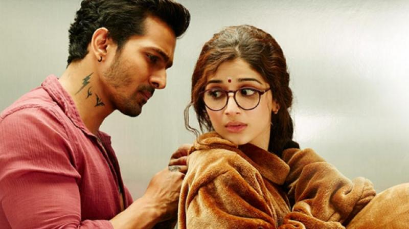 Harshvardhan Rane and Mawra Hocane in 'Sanam Teri Kasam'.