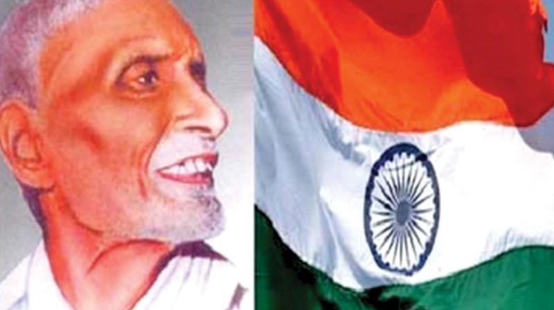 Freedom fighter Pingali Venkayya