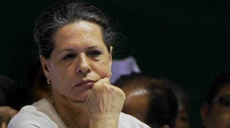 Sonia Gandhi rushed to New Delhi owing to her ill health