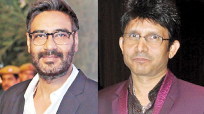 Ajay Devgn took notice of the noise created by KRK on Twitter and knowing that KRK initially had only good things to say about his film, the actor suspected a foul play and asked his business partner Kumar Mangat to call him up to find out what was going on.