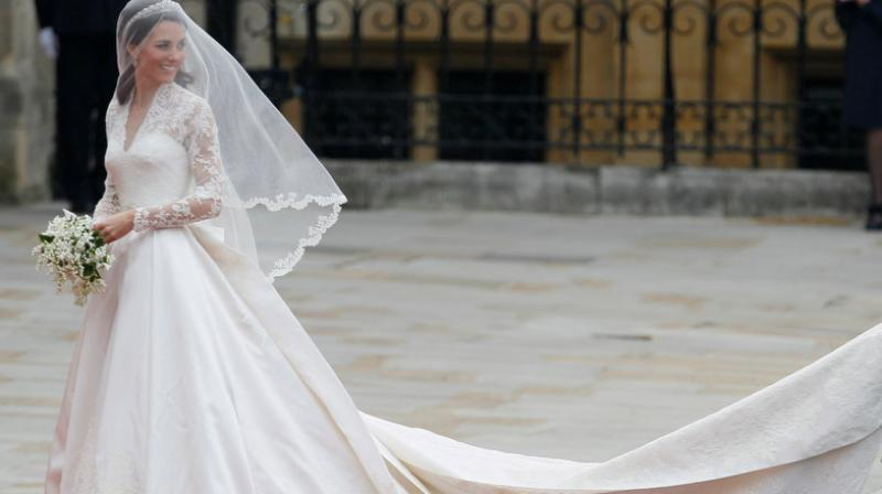 Designer takes legal action over Kate Middleton wedding dress
