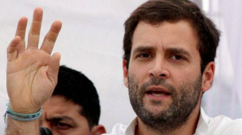 Congress vice president Rahul Gandhi. (Photo: PTI/File)