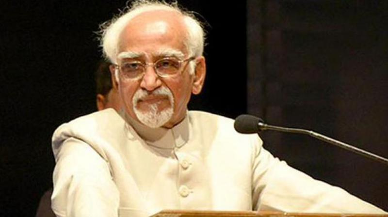 Vice President Hamid Ansari. (Photo: PTI)