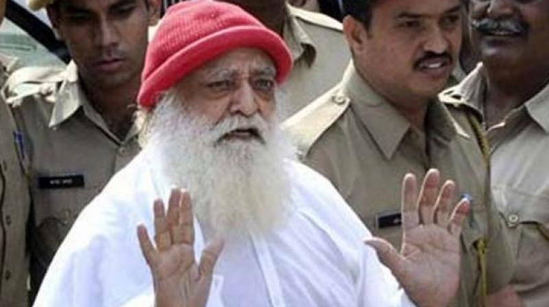 The bench, while dismissing the bail plea, said the lower court will proceed with the trial and will not be influenced by the prima facie observations given by the Gujarat High Court earlier while dismissing Asaram's plea. (Photo: File)