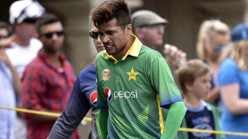 The PCB filed a special case to finally secure a visa for Mohammad Amir who was among three Pakistani players found guilty of spot-fixing during Pakistan's tour of England in 2010. (Photo: AFP)