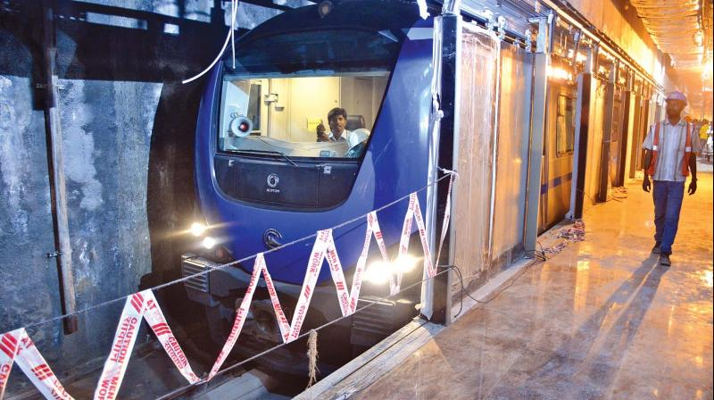 Four Underground Chennai Metro Stations Ready For Trains