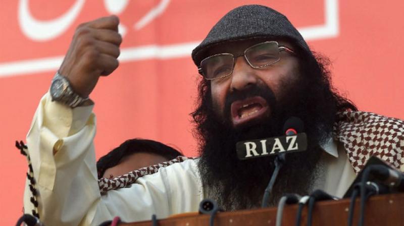 Hizbul Mujahideen Chief Syed Salahuddin. (Photo: AFP)