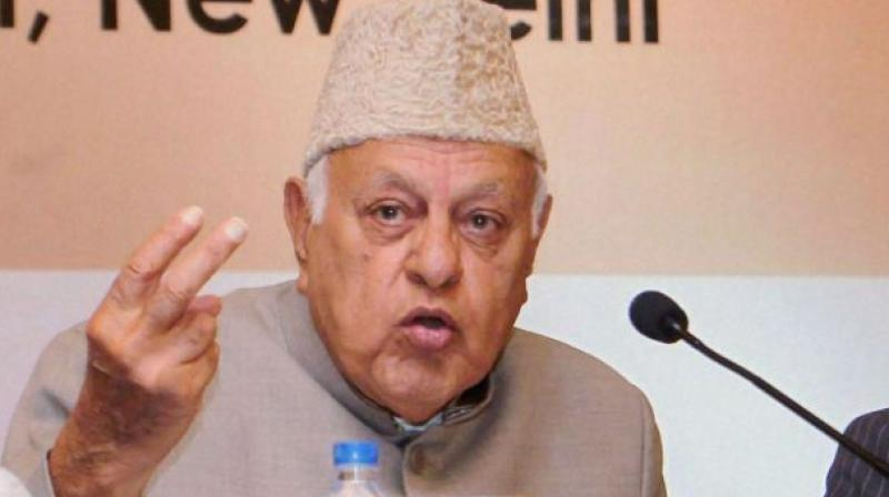 Former Jammu and Kashmir Chief Minister and Lok Sabha member, Farooq Abdullah rejected the suggestion that the Central government has turned down the autonomy demand. (Photo: File)