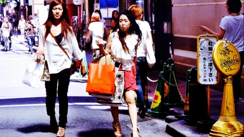 Japanese working girl
