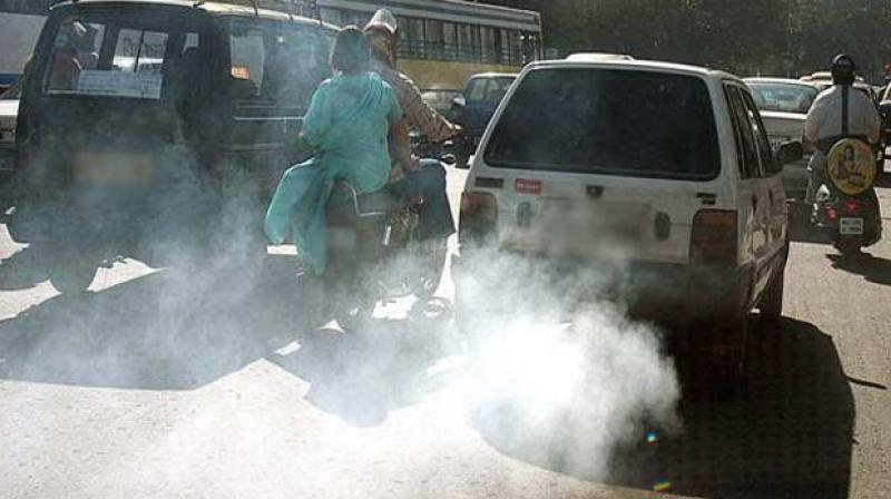 Pollution in Delhi (Photo: PTI)