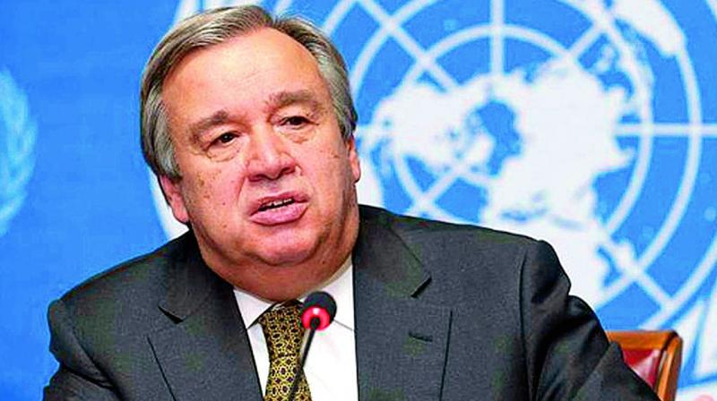 Guterres thanked India for its 'strong commitment to multilateralism' and to partnership with the United Nations, which he said is expressed in many ways across the global agenda and seen through the activities of this 'important' fund. (Photo: File)