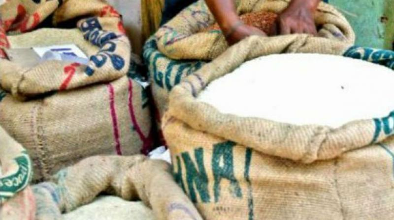 Government is providing foodgrains at a highly subsidised (CIP) rate of Rs 1-3 per kg to more than 80 crore poor people in the country.